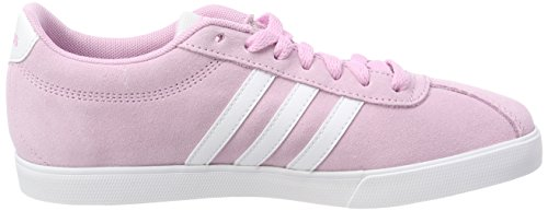 Ftwwht W Ftwwht Courtset Fropnk Sneaker Ftwwht Ftwwht Donna Fropnk Rosa adidas 01q5w5