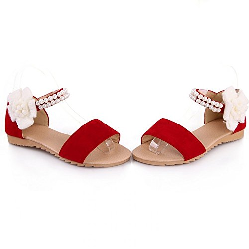 Shoes Sexy Women Flat LongFengMa Red Ladies Lady Bohemia Fashion Sandals 5q8IXIw