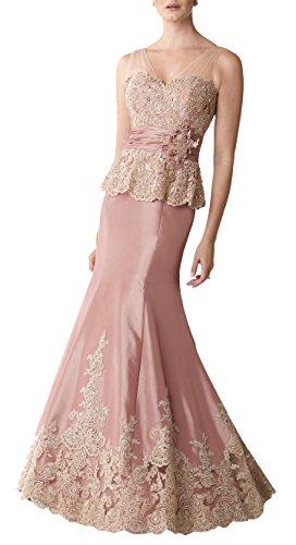 - Butterfly Paradise Sleeveless Taffeta Trumpet Modified V-Neckline Dress