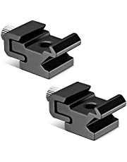 Neewer® nero metallo adattatore supporto flash Hot Shoe con 1/10,2cm -20treppiede vite (2confezioni)