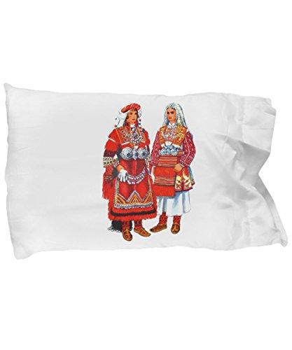 Macedonian Folk Costumes (Macedonian Folk Costumes - Pillow Case)