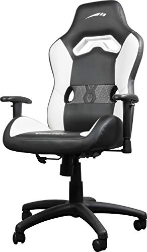 SpeedLink Looter Gaming Chair, Black-White, Negro/Blanco, Medidas: 64 × 68 × 114-122cm (An x F x Al)