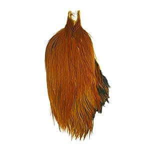 Metz 1/2 Rooster Neck, Grade #2 - brown