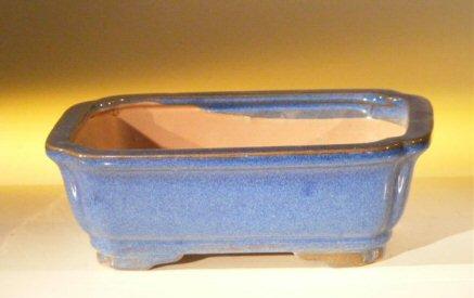 Bonsai Boy Blue Ceramic Bonsai Pot - Rectangle - 7.0