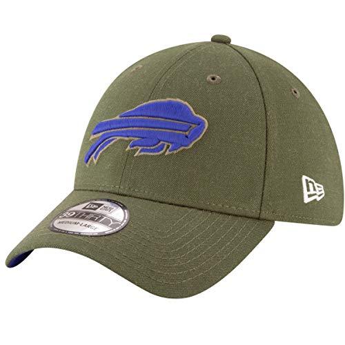- New Era Mens NFL 2018 Salute to Service 39Thirty Flex Fit Hat (Small/Medium, Buffalo Bills)