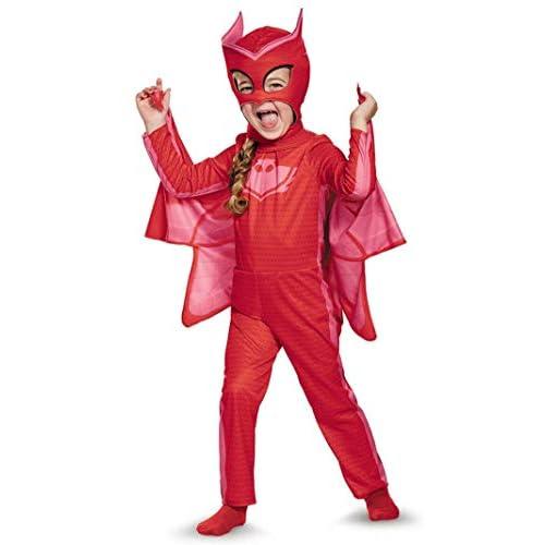 Owlette Classic Toddler PJ Masks Costume, Medium/3T-4T
