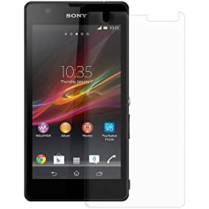 Amzer Kristal Clear Screen Protector Guard for Sony Xperia ZR M36h, Retail Packaging, Clear (AMZ95925)