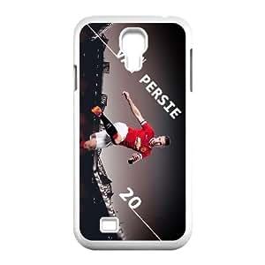Robin Van Persie al Manchester United 2014 Wallpaper Samsung Galaxy S4 Caso 9500 del teléfono celular funda blanca del teléfono celular Funda Cubierta EEECBCAAL77743