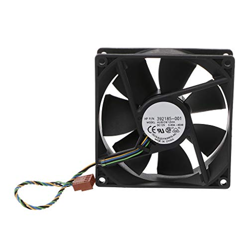 HOWWOH 909025mm 9025 DC 12V 0.6A 4-Pin PWM Computer Cooling Fan for Delta AUB0912VH