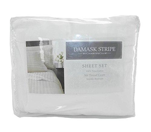 Charter Club Allure White Full Sheet set