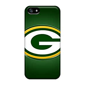Hot RFs17171HITx Cases Covers Protector For Iphone 5/5s- Green Bay Packers