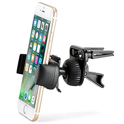 Air Vent Mount - iKross Smartphone Air Vent Car Vehicle Mount Cradle Holder - Black (Sony Xperia V Screen)