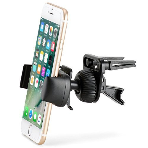 Price comparison product image Air Vent Mount - iKross Smartphone Air Vent Car Vehicle Mount Cradle Holder - Black