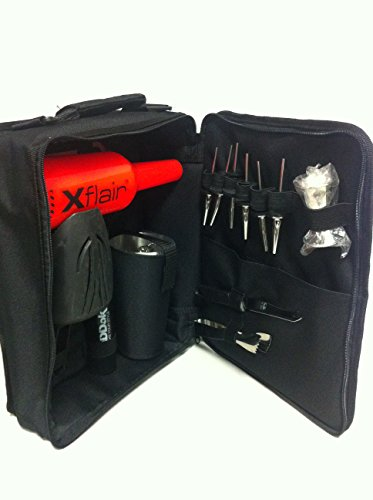 Set-de-coctelera-bolsa-de-barman-color-black-boston-tin-shaker-Bartending-Practica-Cafe-Bar-Botella