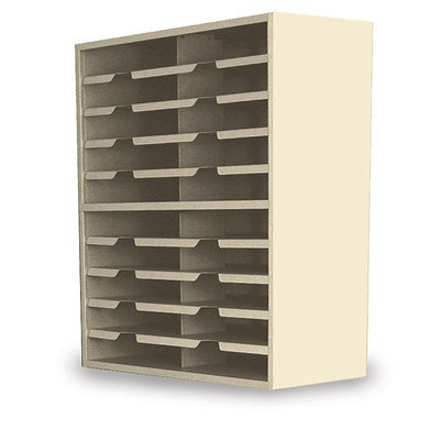 Mailroom 20 Pocket Sorter Finish: Putty