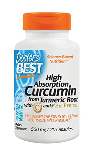 Doctor's Best High Absorption Curcumin, 120 Capsules