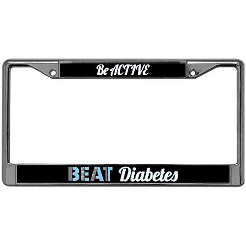 diabetes license plate frame - 6