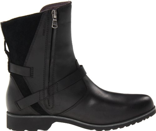 Vina De Low La Black Leather Teva Women's Boot qRtwff