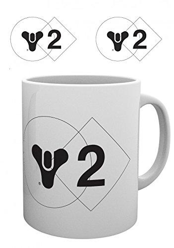 Set: Destiny, 2, Logo Photo Coffee Mug (4x3 inches) And 1x 1art1 Surprise (Destiny Decor)