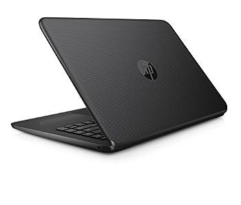 "Hp 14-ax040wm Laptop, Intel Celeron N3060, 1.6 Ghz, 32 Gb, Windows 10 Home 64 Bit, Black, 14"" 3"