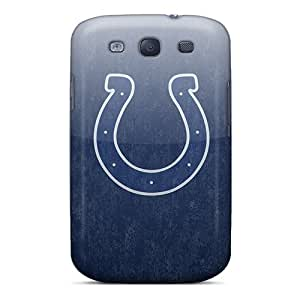 LavernaCooney Samsung Galaxy S3 Scratch Protection Phone Cases Custom Trendy Indianapolis Colts Skin [Wyn18249PfTi]