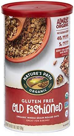 Oatmeal: Nature's Path Old Fashioned Oats Gluten Free