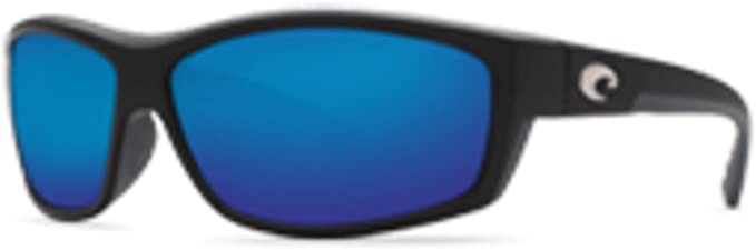 Costa Del Mar Saltbreak Sunglasses BK-11-OBMGLP Black 580G Blue Polarized