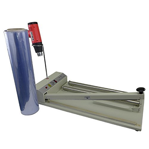 Easyway 24'' Shrink Wrap Machine (Include Heat Gun and 500 Feet Shrink Centerfold Film by Easy Way Products