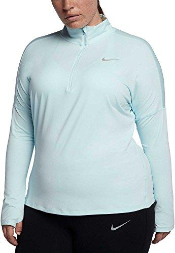 パーク修士号秘書[ナイキ] レディース シャツ Nike Women's Plus Size Element Half-Zip [並行輸入品]