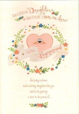 daughter future son in law engagement card by hallmark cards - Engagement Cards