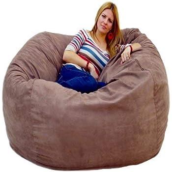 Amazon Com Cozy Sack 5 Feet Bean Bag Chair Large Earth