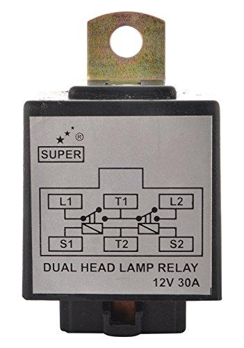 Super 1401 H4 Head Lamp Wiring Kit Finolex Wire With Hl Relay