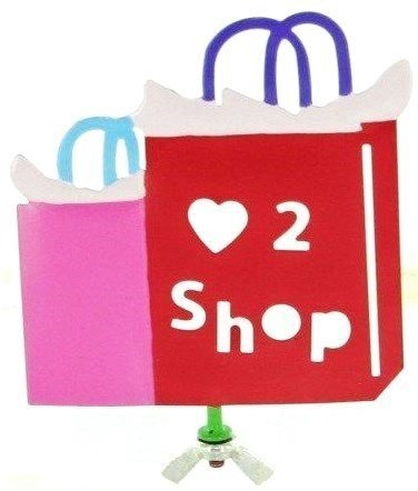 (Family Matters Yard Stake Figure Shopping by Figi)