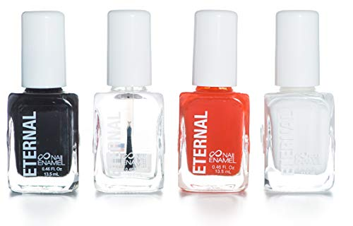 Eternal Glorious Collection - 4 Pieces Set: Long Lasting, Quick Dry Nail Polish (Halloween)