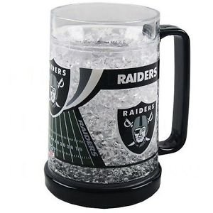 NFL 16 Oz. Beer Glass NFL Team: Oakland Raiders