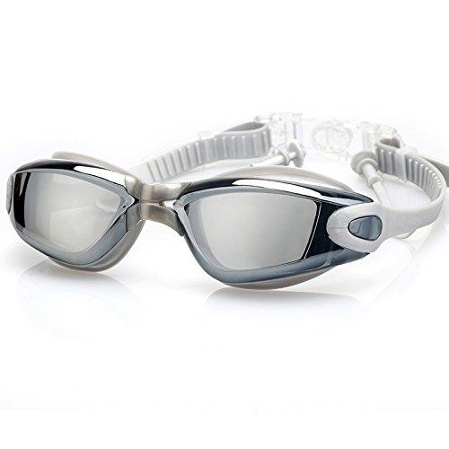f6756842d8 Deportes acuáticos alftek Professional Protección UV Gafas de natación Anti  Fog Agua Densidad Unisex Gafas de ...