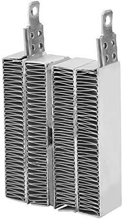 12V/24V Aluminiumgehäuseheizung Thermosta 70W 150W PTC Ripple Heizplatte Thermistoren Heizung zum Heizen von Feststoffen und Gasen(24V 150W)