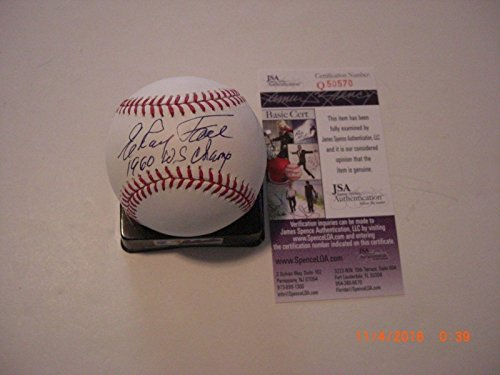Elroy Face (Elroy Face Pittsburgh Pirates 1960 Ws Champs coa Signed Mlb Baseball - JSA Certified - Autographed Baseballs)