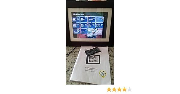 Amazon.com : Pandigital 10.4 Digital Photo Frame : Digital Picture ...