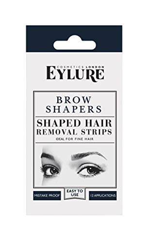 Eylure Taking Shape Eyebrow Shapers, Brow Wax Strips, Cold Wax, Pre-Cutout