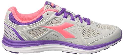 2 Diadora Gris W grigio Chaussures Glicine Femme Running Viola Heron Chiaro De wwgFxBWA7q