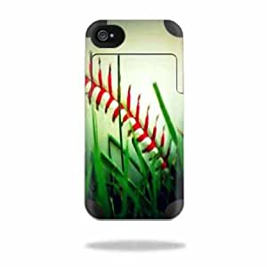 Protective Vinyl Skin Decal Cover for Mophie Juice Pack Air Apple iPhone 4/4S Battery Case Sticker Skins Softball...