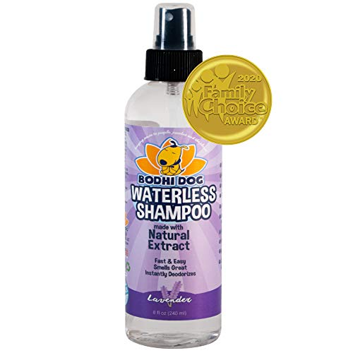New Waterless Dog Shampoo