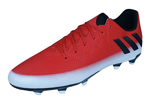 adidas Boys Firm Ground Soccer Boots Messi 16.3 FG-Red-3