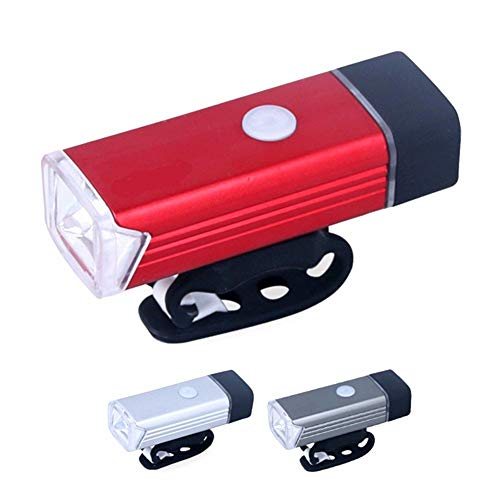 Lista Waterproof Rechargeable USB Charging Cycle Front LED Light Headlight.