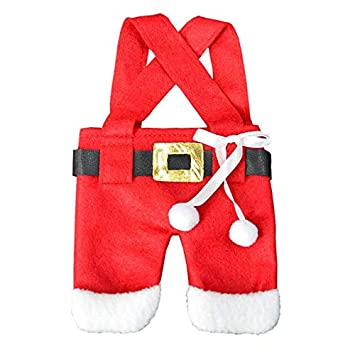 Envio Gratis - Navidad 2017 Envio Gratis Christmas Decorations Santa Clothes Pants Cutlery Bag Covers Holder Dinner - Impuestos Extensiones Peru Zapatos ...