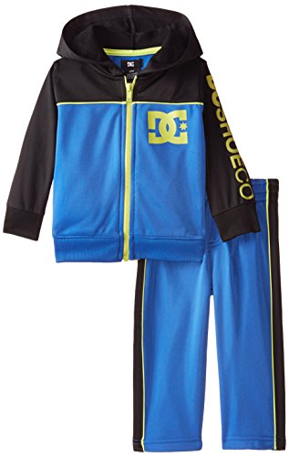 DC Shoes Co Baby Boys' Hoody Track Suit, Blue, 12 Months (Joker Suit For Sale)
