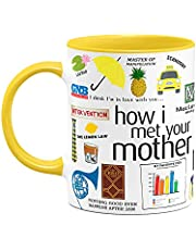 Caneca How i Met Your Mother - Icons Moments B-yellow
