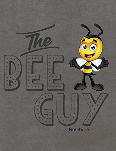 Earthbound Sketchbook - The Bee Guy Notebook: Journal, Diary Or Sketchbook With Wide Ruled Paper