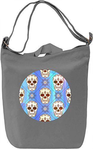 Gothic Skulls Borsa Giornaliera Canvas Canvas Day Bag| 100% Premium Cotton Canvas| DTG Printing|